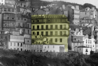 Detalle de la casa Bárcena