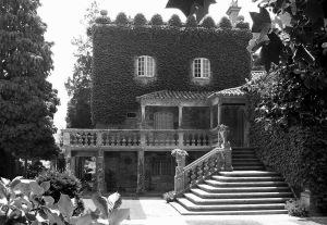 El Pazo de Pousadoura en Rddondela perteneció a la familia Marcó del Pont