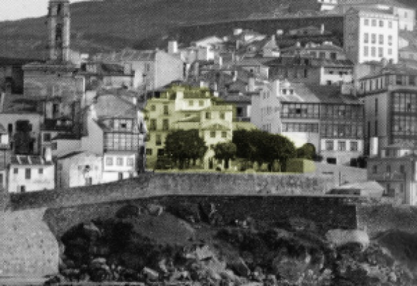 Detalle de la plaza de la Piedra
