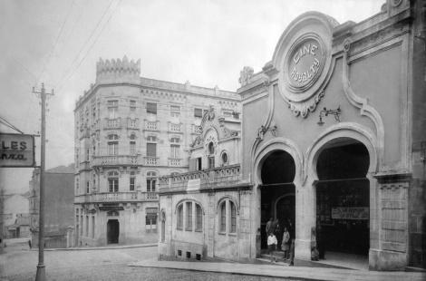 Antiguo cine Royalty en Velázquez Moreno. Fotografía Pacheco.