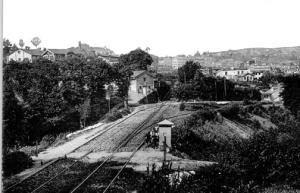 Desviación del enlace del puerto a la altura del barrio de San Lorenzo