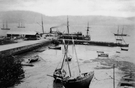 Muelle del Comercio en 1895