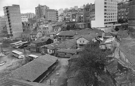 El barrio del Roupeiro en 1972. Fotografía Magar