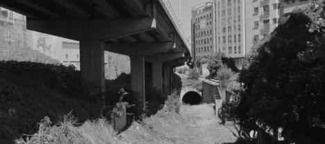 Túnel del tren en Alfonso XIII Uno