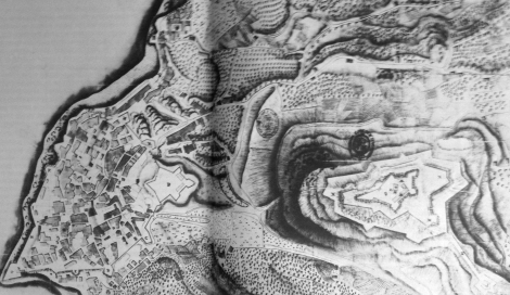 Plano Vigo del siglo XVIII
