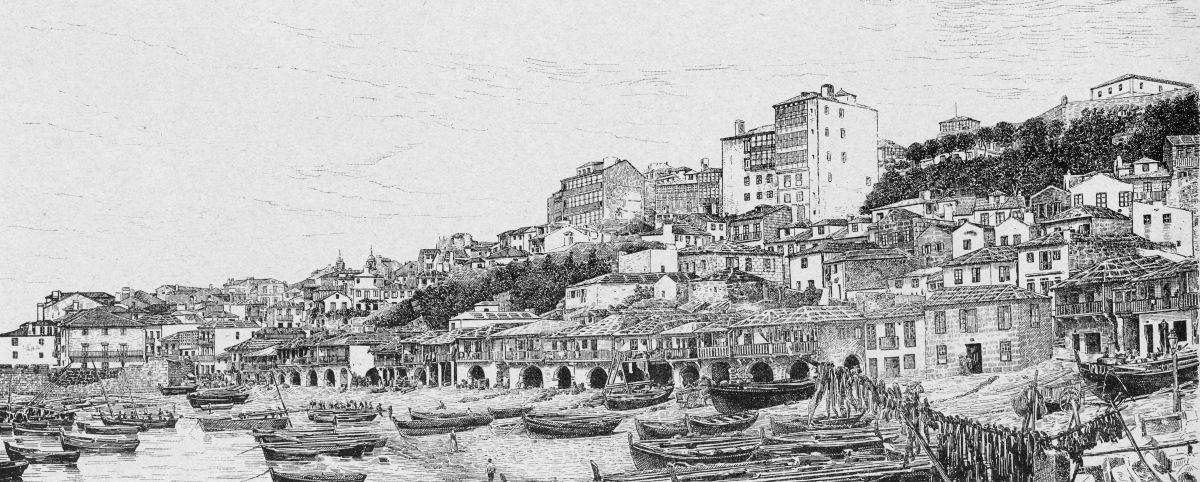 Historia en un grabado. El Berbés a finales del siglo XIX.