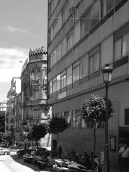 La calle Velázquez Moreno hoy en día. Fotografía Eduardo Galovart