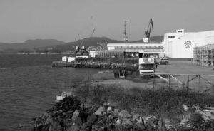 Instalaciones del grupo Vieira en Rande. Fotografía Faro de Vigo