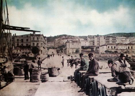 Alameda 1880 incio obras Fotografía Pacheco