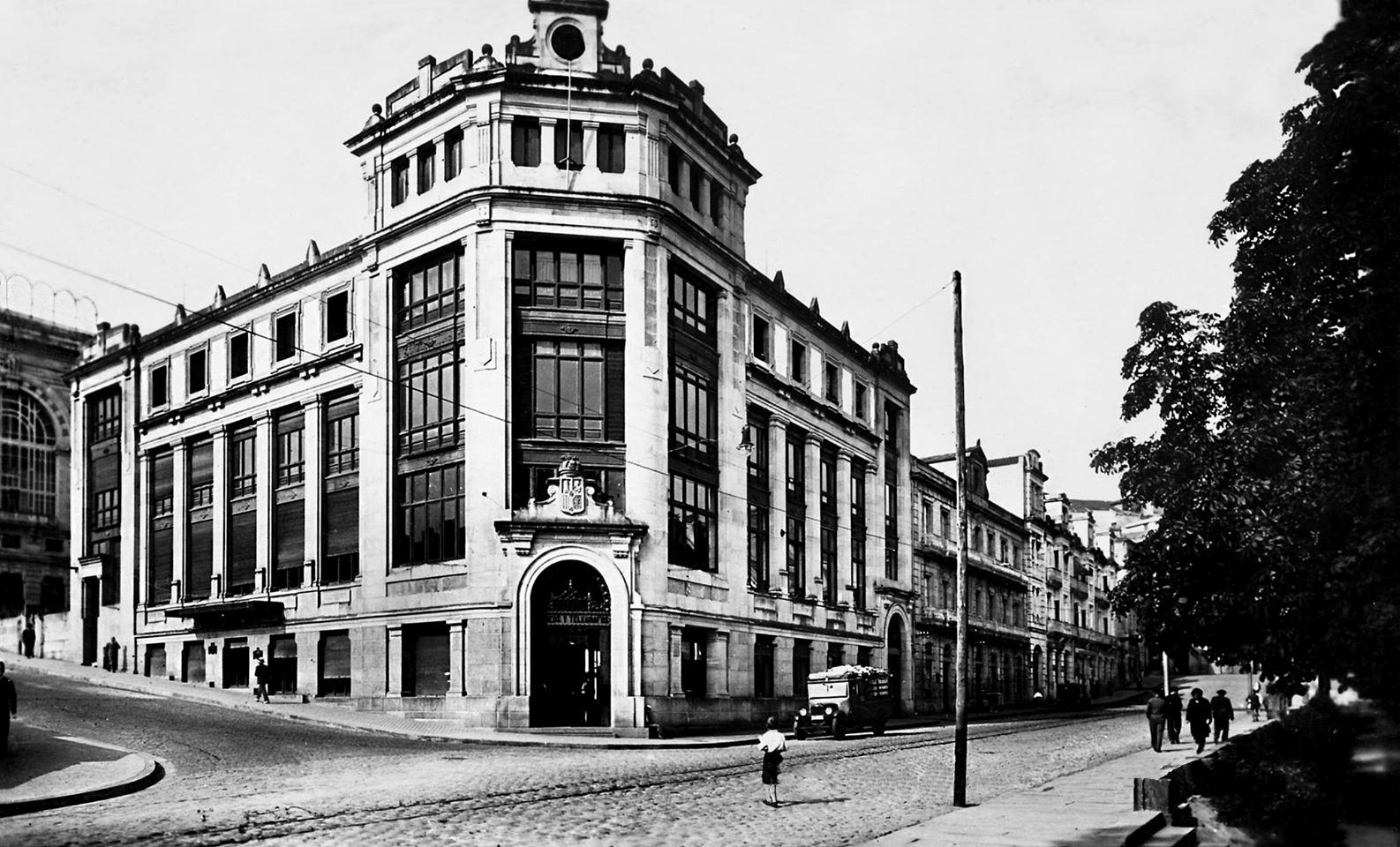 Vigo 1930 1959 vigopedia for Edificio correos madrid