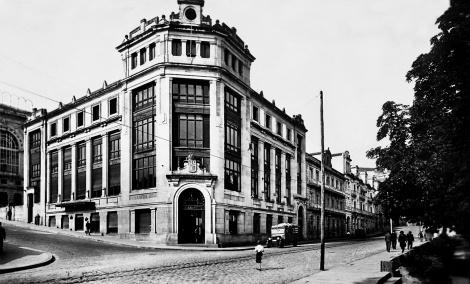 Nuevo edificio de Correos en la Alameda