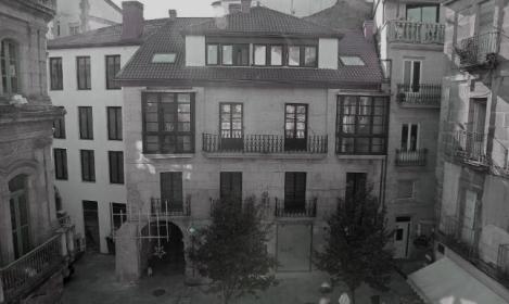 El casa de la familia Quirós recién rehabilitada. Fotografía Jorge Santomé Faro de Vigo