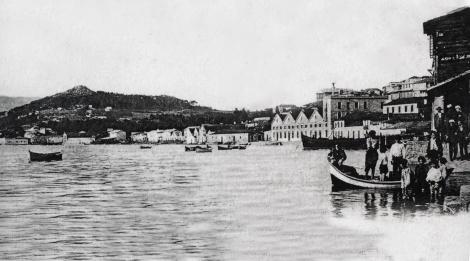 El Arenal , el barrio vigués de los industriales conservemos catalanes a finales del XIX.