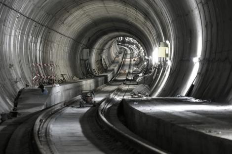 Obras de la estación del AVE en Vigo. Fotografía Ricardo Grobas.