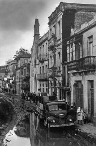 Desalojo de las viviendas de Guixar. Fotografía Magar