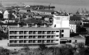 Construcción de la clínica Fátima en la Vía Norte