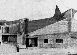 La nueva iglesia de Teis del arquitecto José Bar Boo