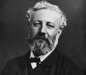Julio Verne en una fotografía de la época.
