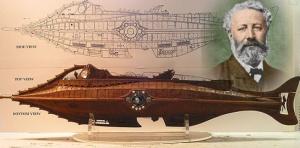 Julio Verne y los planos del Nautilius