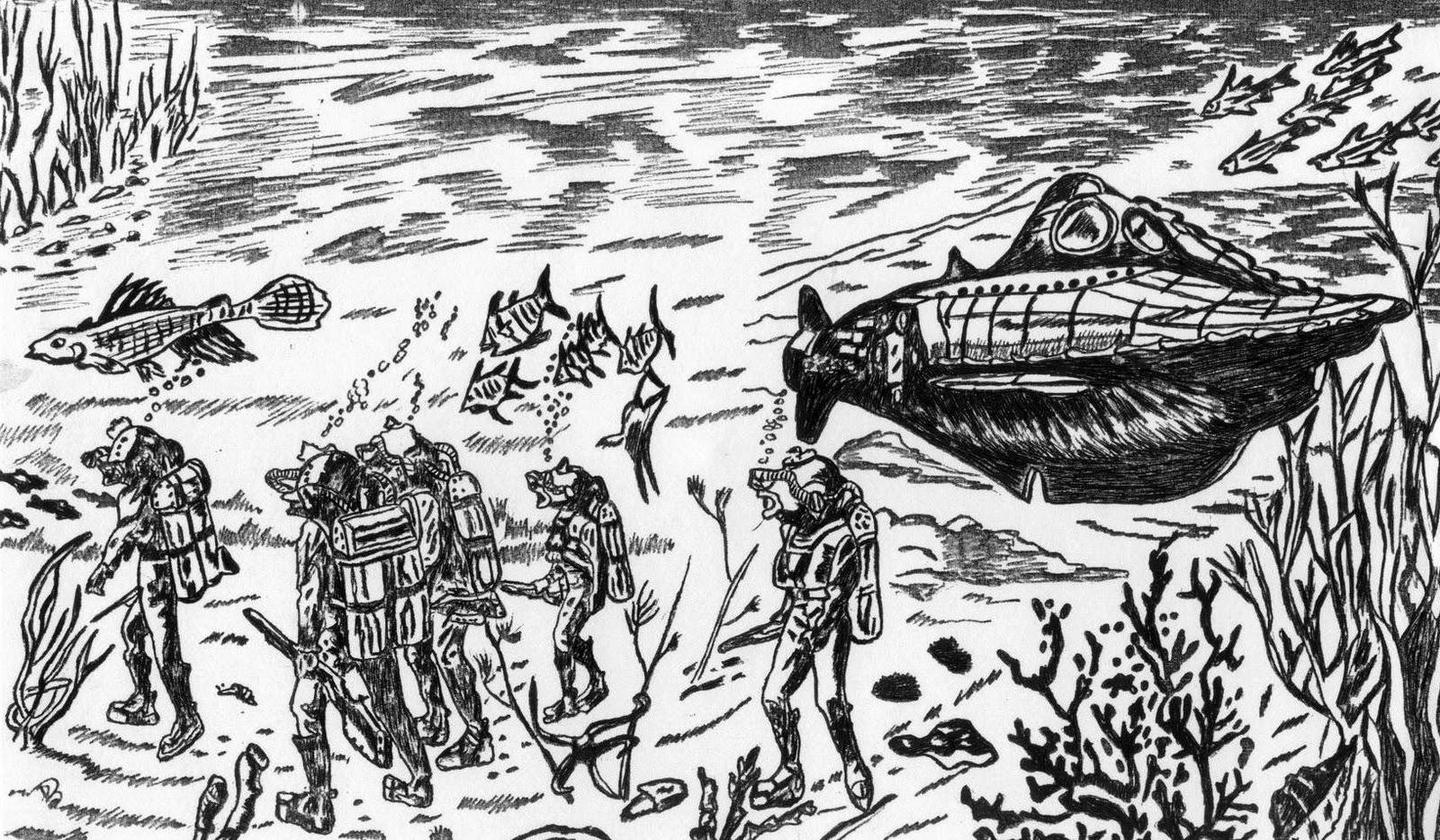 El capitán Nemo en la ría de Vigo | Vigopedia