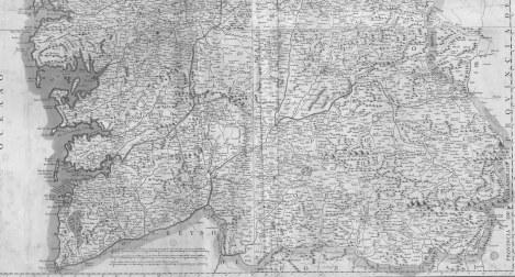 Reino de Galicia pequeño 1784