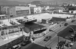 Obras de Abrir Vigo al Mar en el Náutico. Fotografía La Voz de Galicia