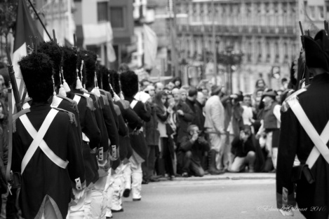 Expulsión de los franceses de Vigo. Fotografía Eduardo Galovart. Vigo 2014.