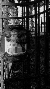 Escudo de Vigo en el Olivo
