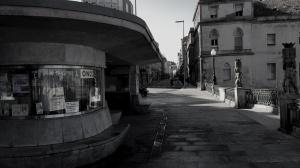 Antiguo kiosko en el paseo de Alfonso