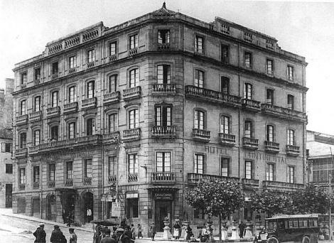 El antiguo hotel Continental en Montero Ríos